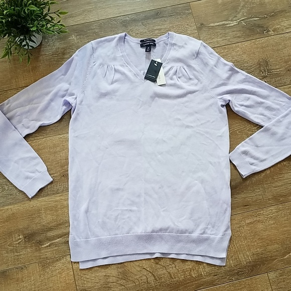 ca7bfbc9d28 Lands End👩 💼Womens V Neck Sweater Size Small